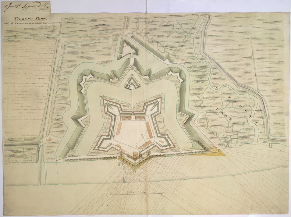 TILBURY FORT and the PROPOSED ALTERATIONS